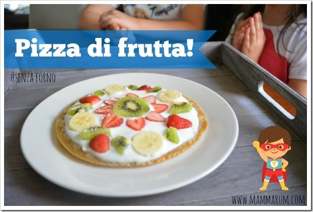 ricetta pizza di frutta