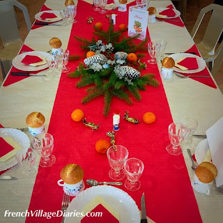 French Village Diaries Christmas meal life food France
