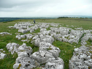 Limestone Pavement on Heughscar Hill