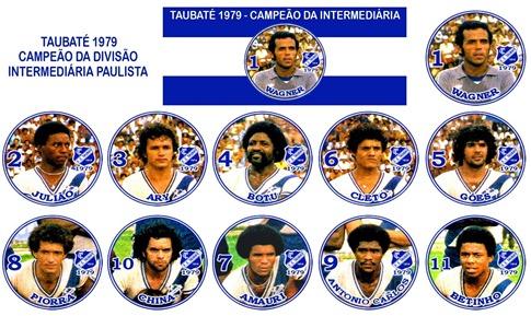 241 - Taubaté 1979 - Campeão da Intermediária