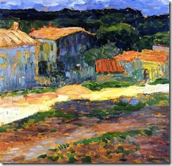 Alexei-Jawlensky-Landscape-with-Houses-in-Provence
