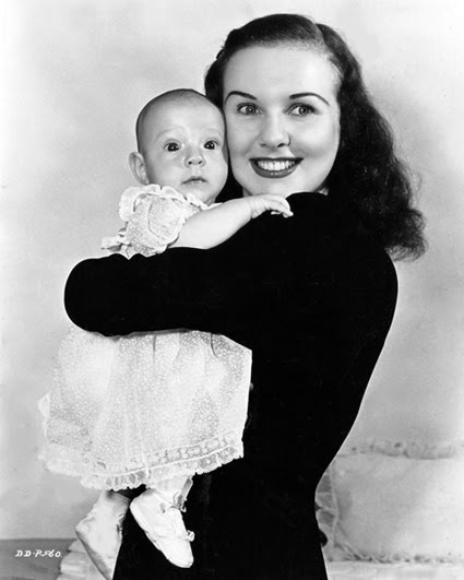 Deanna Durbin and daughter Jessica