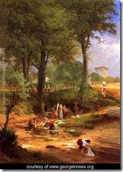 Washing-Day-near-Perugia-(or-Italian-Washerwomen)