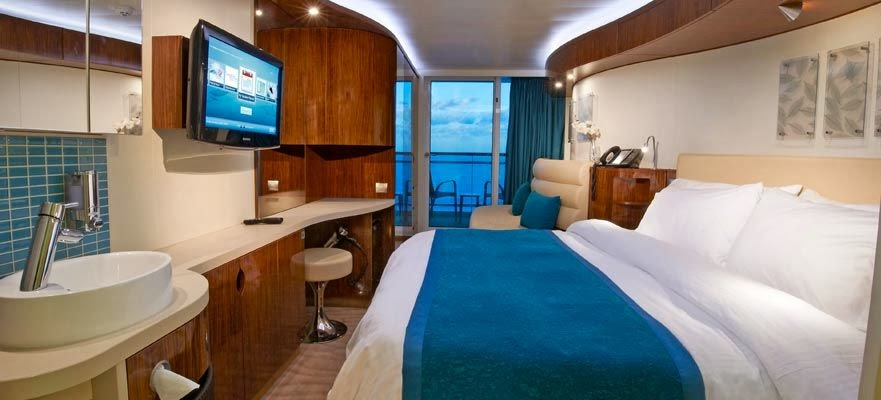Norwegian Epic - Oceanview with Balcony ( Cabin )