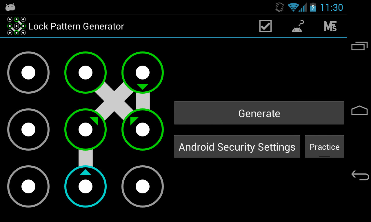 Unlock Phone Pattern Simple Inspiration
