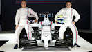 Williams Martini FW36 with Valtteri Bottas and Felipe Massa