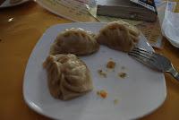 """Na lunch typowe mongolskie pierogi """"buz"""""""