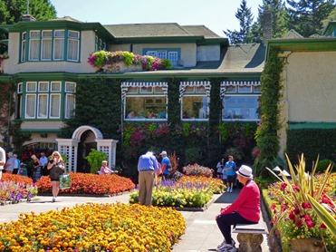 Italian Garden, Butchart Gardens (can you spot Marcia?)