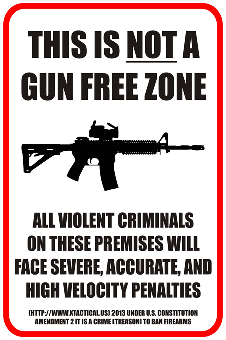 not gun free zone
