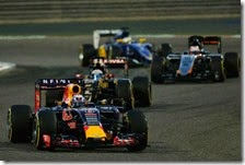 Daniel Ricciardo nel gran premio del Bahrain 2015