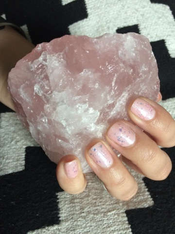 Bitch make it yourself rose quartz nail polish rose quartz nail polish solutioingenieria Choice Image