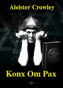 Cover of Aleister Crowley's Book Konx Om Pax