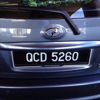 Rental car in Kuching