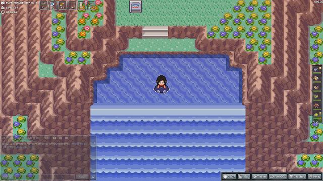 PokéMMO - Ever Grande City Waterfall