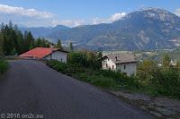 Vom Col Falcon (860m) zum Passo Croce d'Aune (1015m).