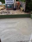 Een bed van beton