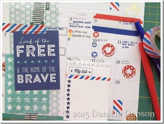 July planner 3  by Daniela Dobson