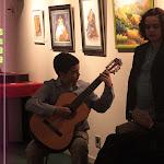 Pablo se atrevió con el Capricho Árabe en la Final... tremendo, buena técnica y gran capacidad. Preparándose para el 2º Concurso Internacional de Guitarra Alhambra para Jóvenes