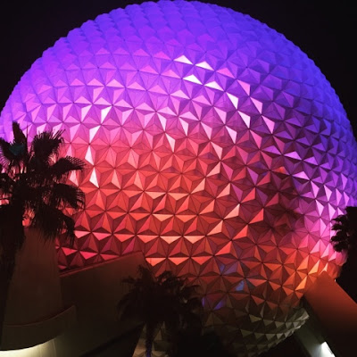 Epcot's Spaceship Earth link