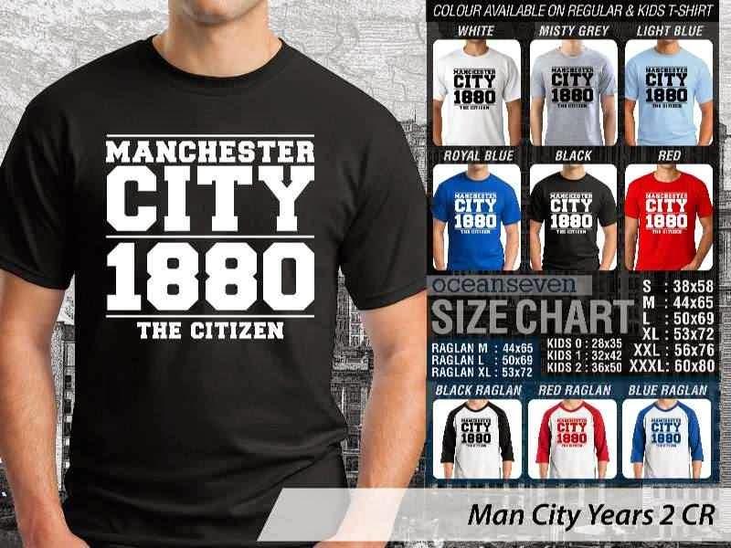 KAOS Man City Manchester City 17 Liga Premier Inggris distro ocean seven