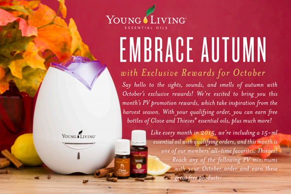 Oct 2015 Young Living Promo