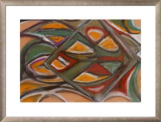 Forest colors (oil pastels, 2005)