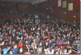 La entrega de premios fue en el Cine Teatro Coral de Mar de Ajó