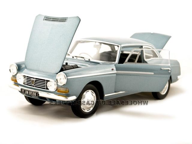 PEUGEOT 404 COUPE BLUE 1967