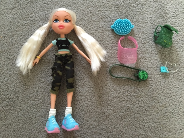 bratz fierce fitness cloe