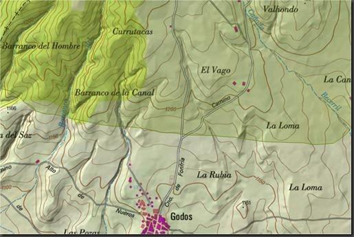 Mapa 1 Godos