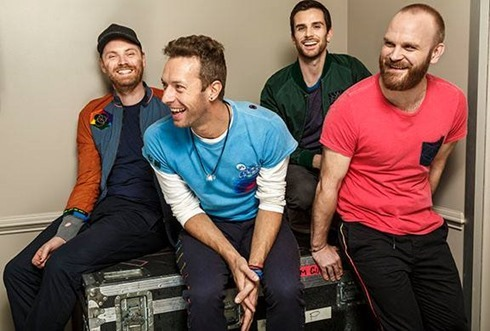 Coldplay The Late Show with James Corden