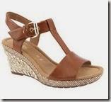 Gabor wide fit tan sandals