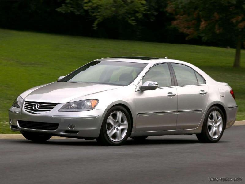 2005 Acura Rl Sedan Specifications  Pictures  Prices