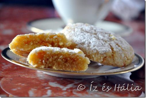 Olasz desszert, mandulás sütemények