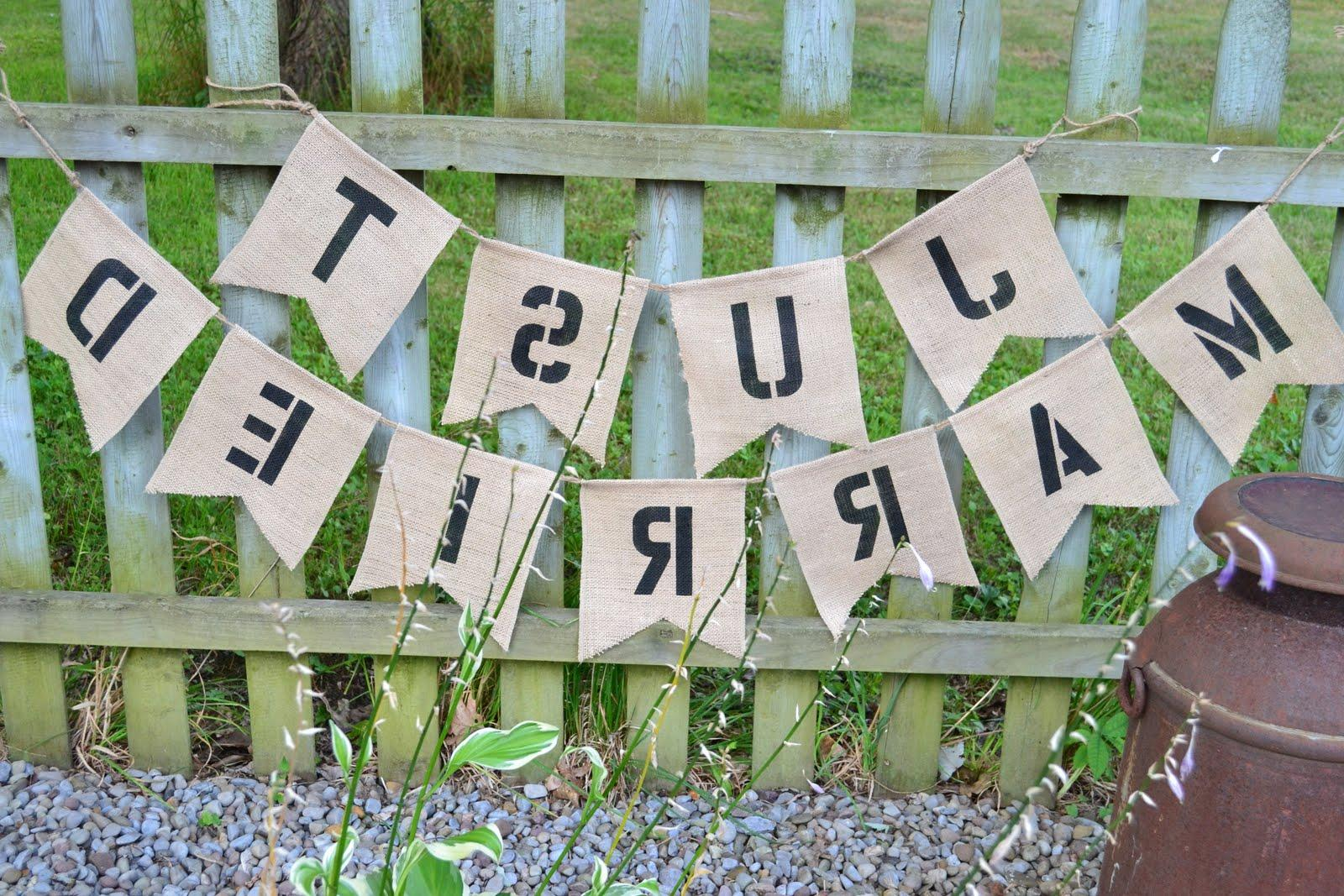 IDEA  1: Burlap Wedding