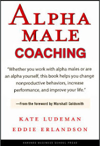 Cover of Kate Ludeman's Book Coaching The Alpha Male