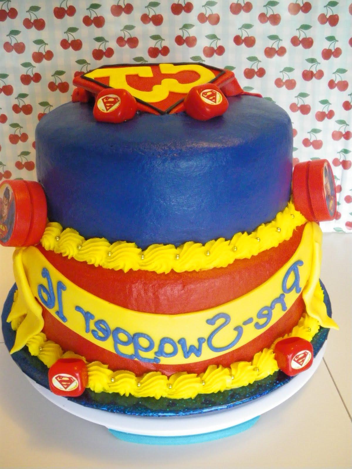 superman wedding cakes