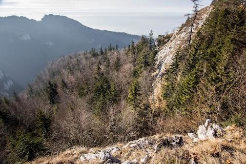 Výhliadka nad Muráňom, záver Konského dolu.