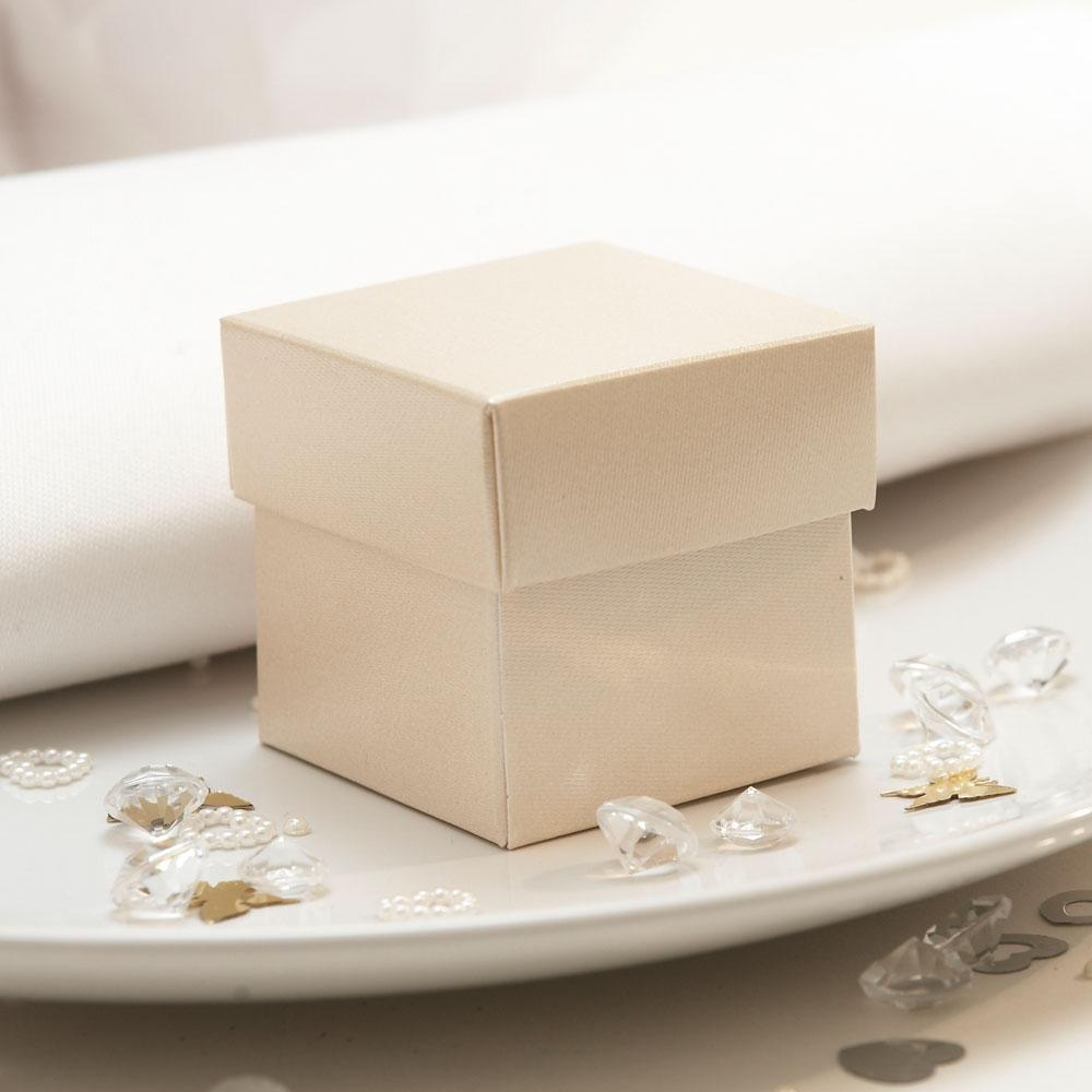 Champagne Wedding Favour Boxes
