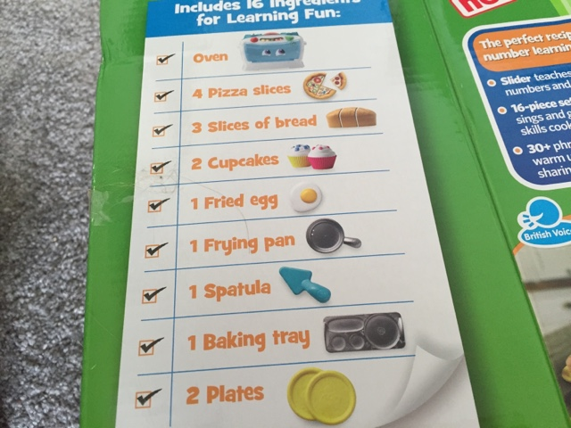 leap frog number loving oven