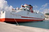 Een veerboot (ferry).