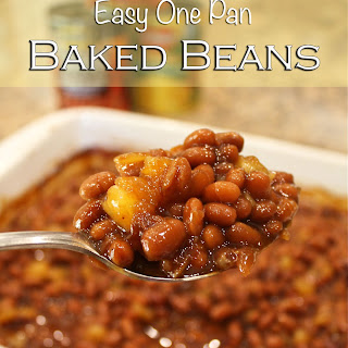 Easy One Pan Baked Beans