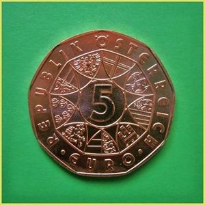 5 Euros Austria 2012