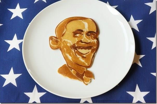 Obama pancake