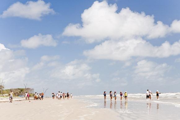 Praia da Romana - Curuçà, Parà, fonte: peabriu. org.br