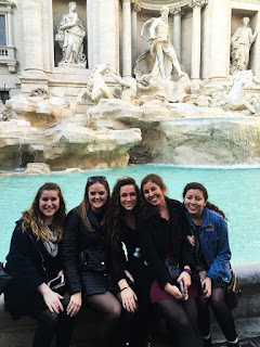 Making a Wish at the Trevi Fountain
