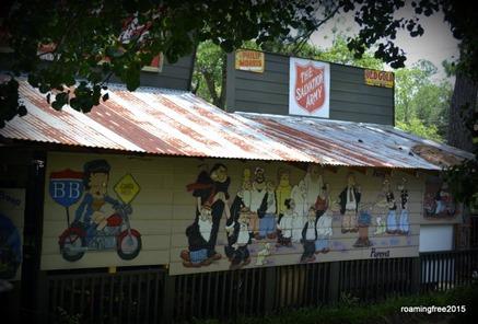 Popeye Mural