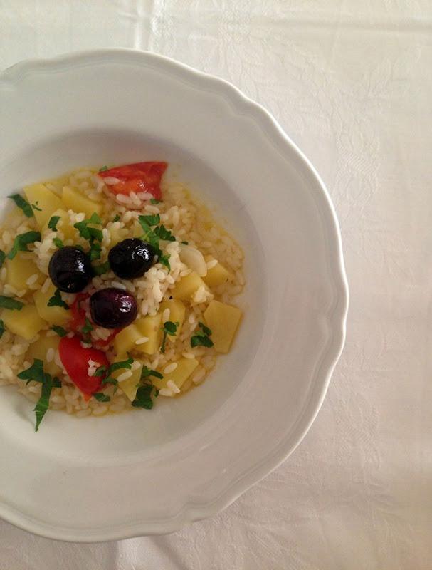 riso e olive