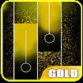 Gold Piano Tiles APK for Bluestacks
