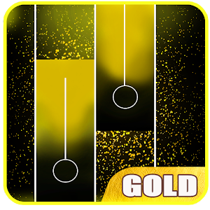 Gold Piano Tiles For PC